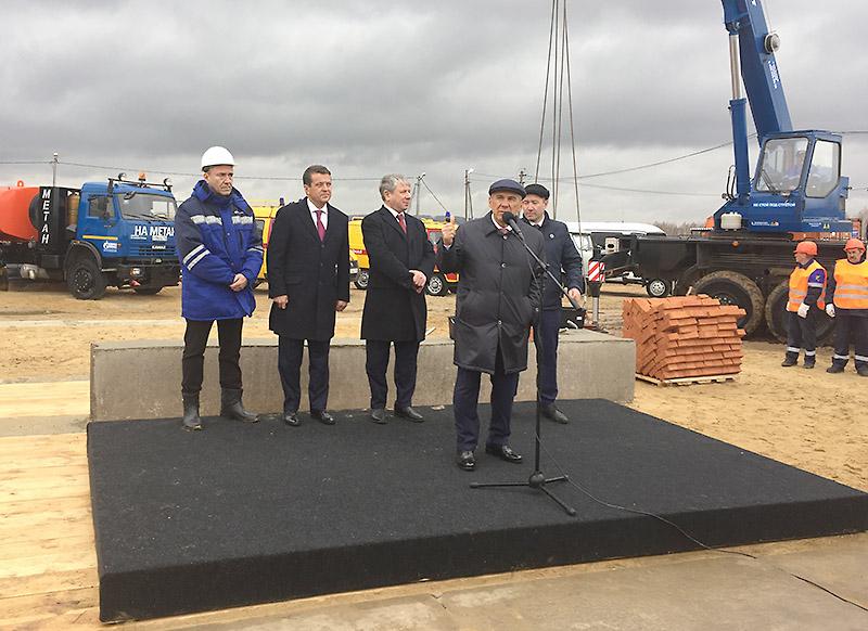ВТатарстане стартовало строительство ГРС «Богородское»